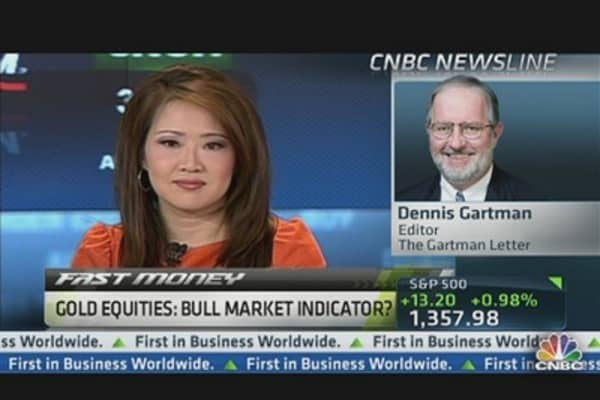 Gold Equities: Bull Market Indicator?