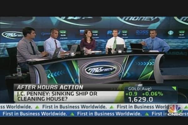 JC Penney Slides More Than 5%
