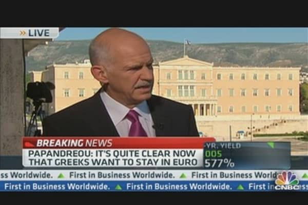 Papandreou: 'We Don't Have a State That's Well Run'