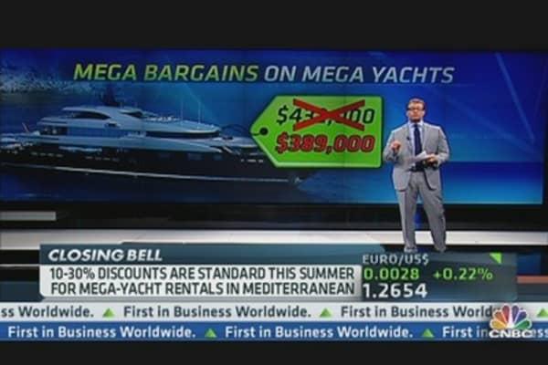 Mega Deals on Mega Yachts