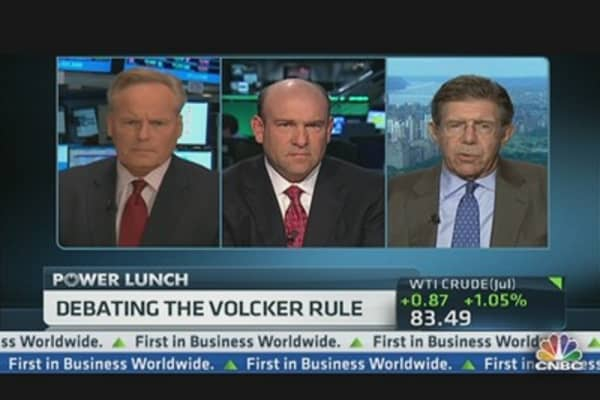 Debating Dimon & the Volcker Rule