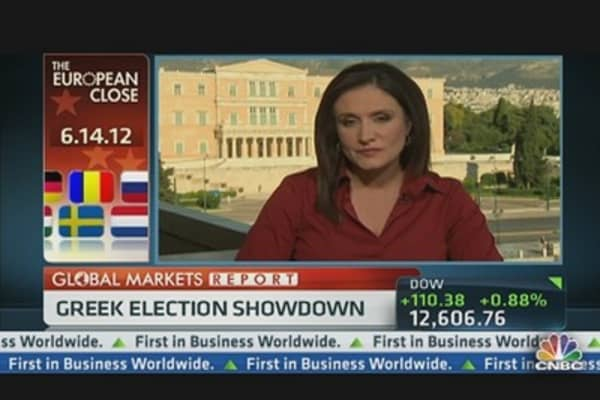 European Markets Close Down Ahead of Greek Elections