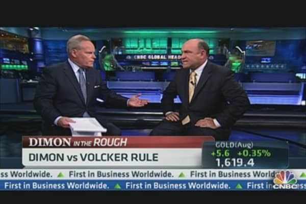 Jamie Dimon vs. Volcker Rule