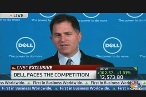 Dell CEO: Main Area We Can Grow is the Enterprise
