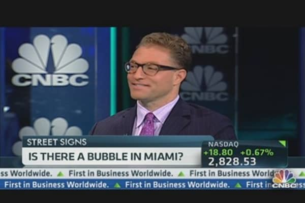 Miami Housing Bubble?