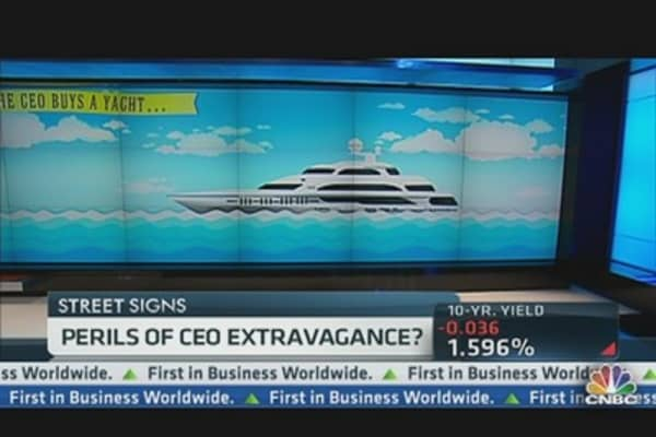 Buy a Yacht, Sell the Stock?