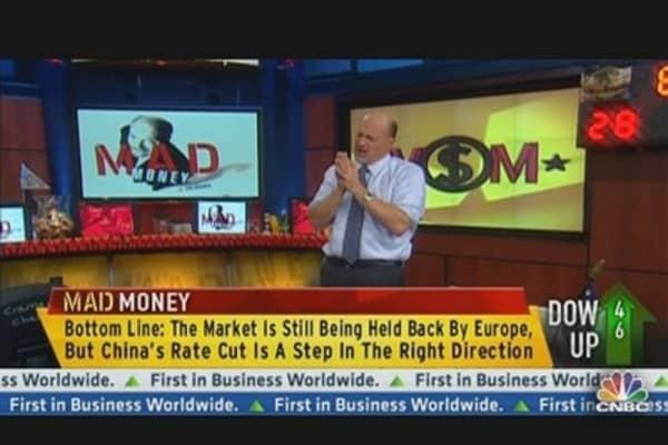 Cramer: Fed's Impact Has Nothing on Spain & China