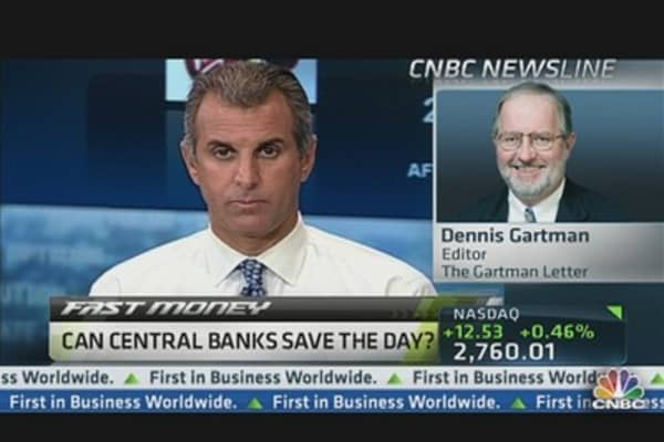 Can Bernanke & the Fed Save the Day?