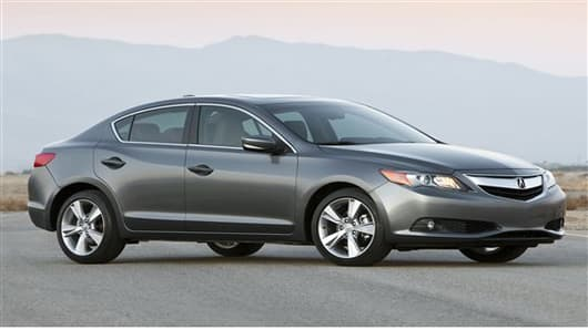 This undated image made available by Honda shows the 2013 Acura ILX 2.0L. (AP Photo/Honda)