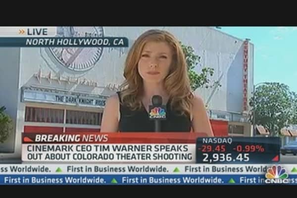 Cinemark CEO Tim Warner Speaks Out on Shooting