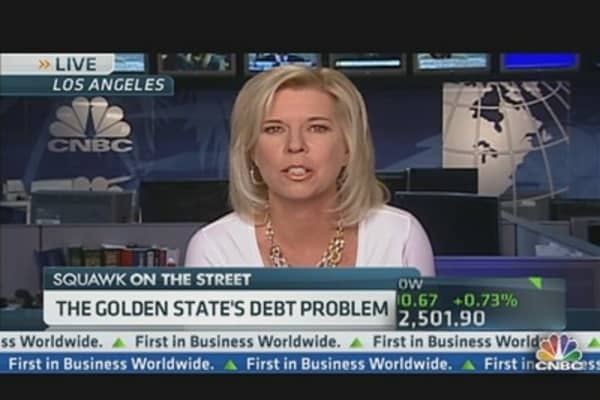 California's Debt Problem Getting Worse?