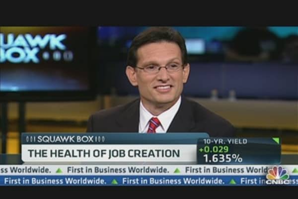 Cantor on the Health of Job Creation