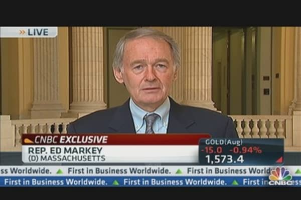 Markey: Timeout on Nat Gas Exports?