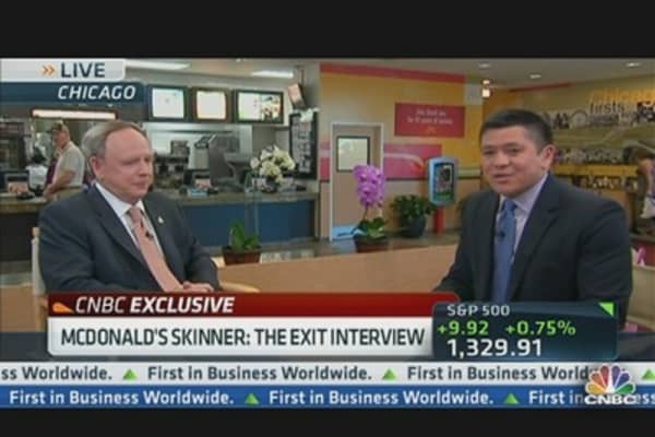 McDonald's CEO Skinner: The Exit Interview