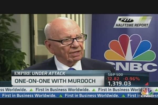 Rupert Murdoch: 'A Split Makes Sense'