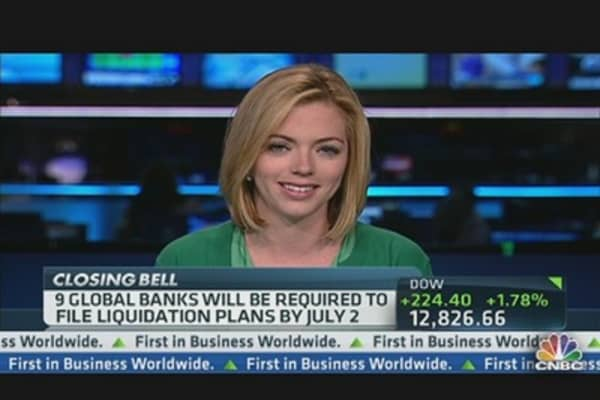 'Living Wills' for Banks