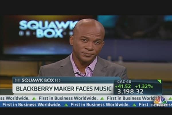 BlackBerry Maker Faces Music