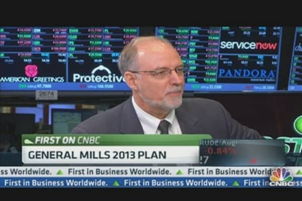 General Mills CEO on 2013 Growth Plan