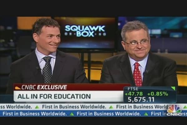 Einhorn: High Stakes for Education