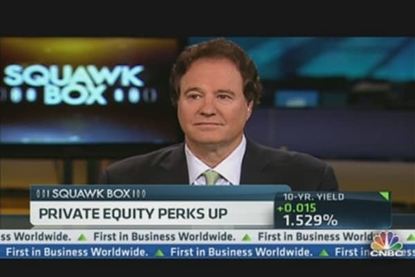 Private Equity 'Perks Up'