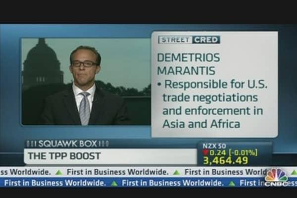 TPP Talks Going Well