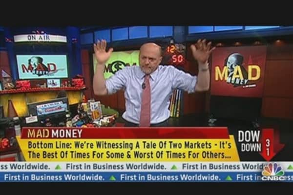 A 'Tale of Two Cities' Market? Cramer Explains