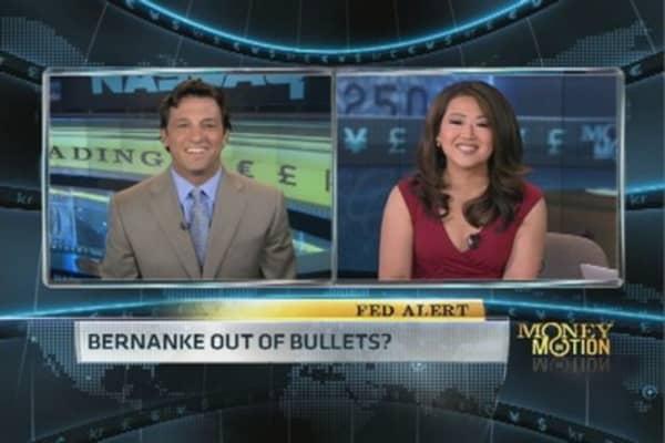 Bernanke Out of Bullets?