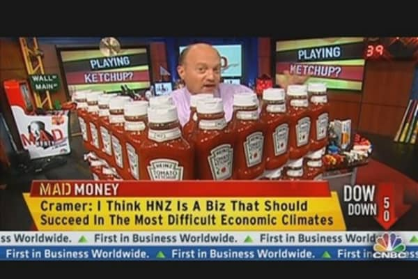 Cramer's 'Ketching' Up With Heinz