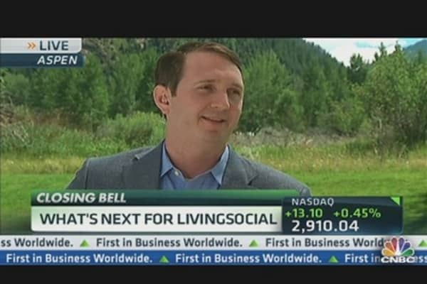 LivingSocial CEO: Over 60 Million Consumers Worldwide