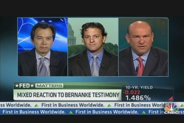Mixed Reaction to Bernanke Testimony
