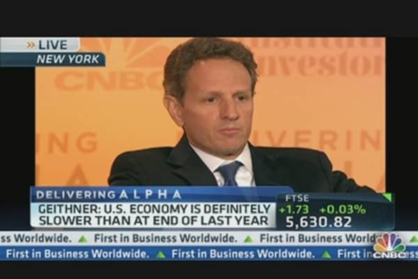 Delivering Alpha: Geithner's Keynote Speech