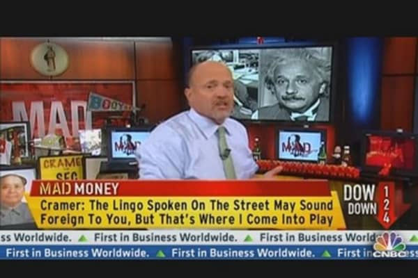 Understanding Investment Vocabulary With Cramer