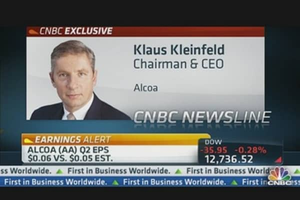 Alcoa CEO: Aluminum Market Fundamentals 'Sound'
