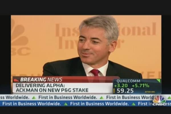 Bill Ackman: Why I Bought P&G Stock