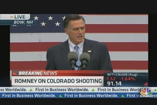 Mitt Romney: 'Unspeakable Tragedy'