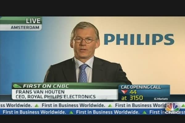 Philips CEO: We Are Confident About Reaching 2013 Targets