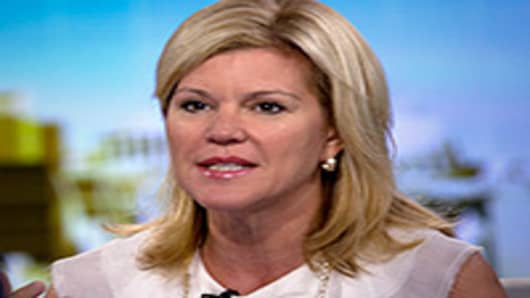 Meredith Whitney, founder and chief executive officer of Meredith Wh