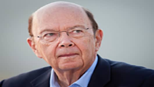 Wilbur Ross, chairman and chief executive officer of WL Ross & Co. LLC.