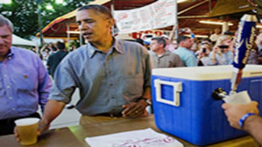 Barak Obamba, Iowa State Fair