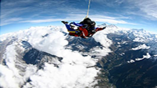 Skydive over Mt. Everest