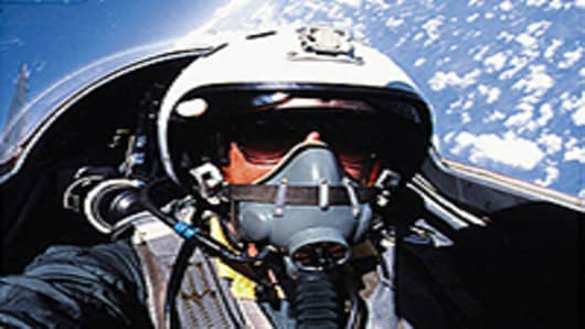 Edge of space in the MiG-29