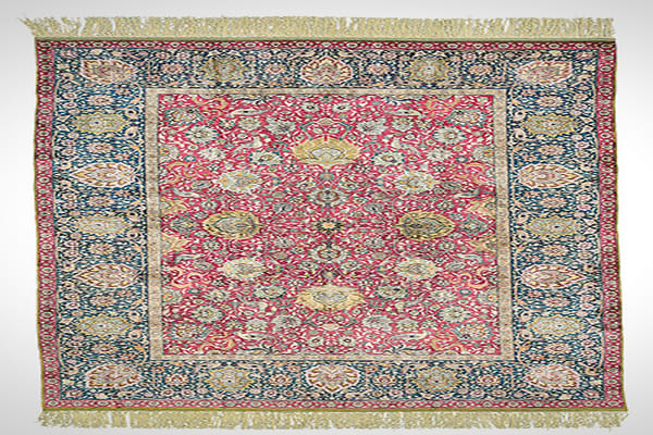 Late 15th or early 16th century 19 ft., 2 in. by 7 ft., 9 in. £265,250 ($416,436)A carpet category, or style, can span a century or more, and/or sometimes be tied to a ruling family or dynasty. This carpet is from either the last quarter of the 15th century or the first quarter of the 16th century. (Star refers to the celestial object.)Ushak carpets were first seen in Anatolia but are also identified with the Ottoman period. They were used to decorate walls as much as floors and also served as