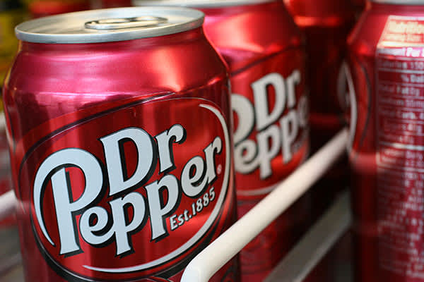 Wouldn't you like to be a Pepper, too? That won't be happening for aspiring soda-making rivals anytime soon, because another soft drink with a famously secret formula is Dr Pepper, which is made from 23 natural and artificial flavors. Only three people are said to be privy to the recipe, which was invented in 1885 by pharmacist Charles Alderton in Waco, Texas, and is kept locked in a vault in company headquarters in nearby Plano. The company has gone  to deny one common guess at ingredients: th