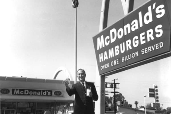 ray krocs dreamy conception of mcdonalds The founder is the story of the origin of mcdonald's and ray kroc it's the latest exploration by blindside director john lee hancock of the american dream.