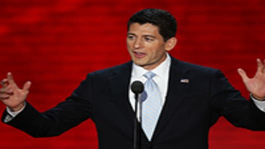 Republican vice presidential candidate, Rep. Paul Ryan.