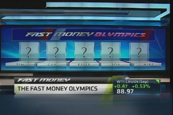 Trading the Olympic Sponsors