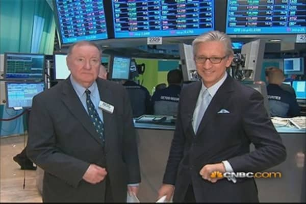 90 Seconds with Art Cashin: 'Market Out of Sync'