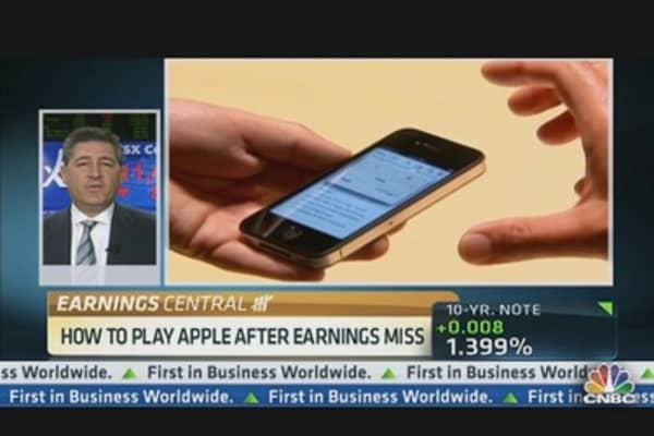 Trading Apple's Big Q3 Miss