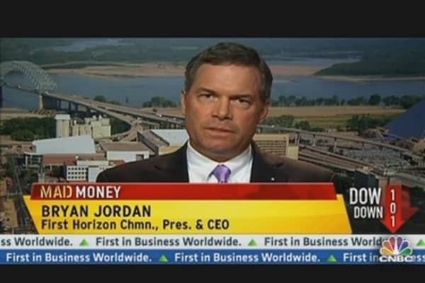 First Horizon National CEO: Loans, Housing & Fiscal Cliff