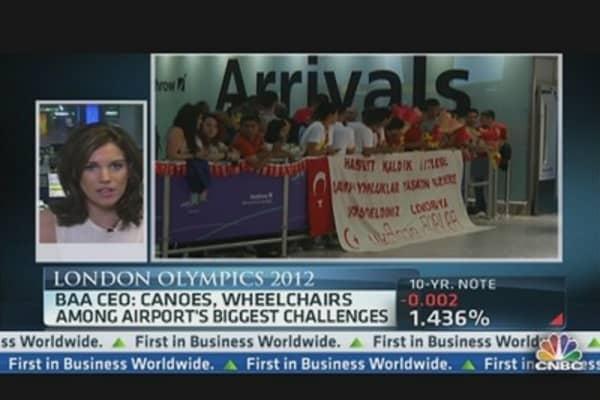 Heathrow Airport Braces for The Olympics